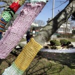 Ramblings from My NC Mountain Haven: Police hunt 'The Midnight Knitter' wool graffiti bandit