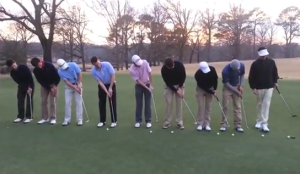 Nine Putts in One Hole